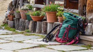 Ausrüstung zum Wandern - Rucksack