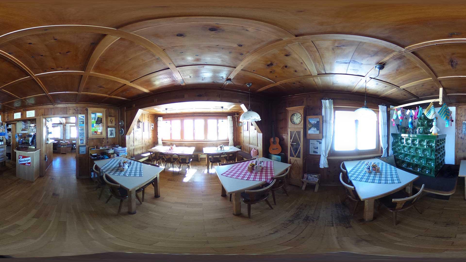 360° Panorama Göppinger Hütte - Stube