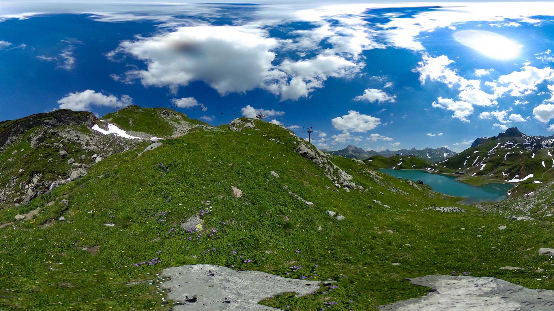 360° Ravensburger Hütte nach Zürs - Rotschrofa