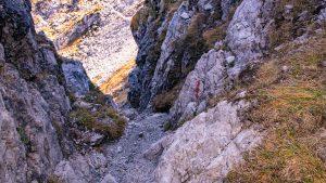 Etappe Biberacher Hütte zur Göppinger Hütte - Alpschellner Gschröff