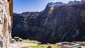 Etappe Biberacher Hütte zur Göppinger Hütte - Obere Alpschellaalpe