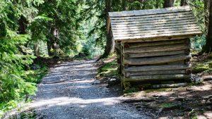 Etappe Landsteg zur Biberacher Hütte - Ufschriebhüttle