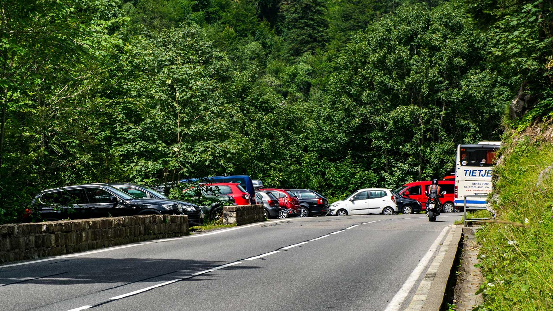 Parkplatz Landsteg