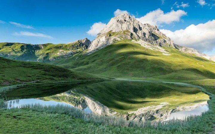 Lechquellenrunde - Gibt dir Berge